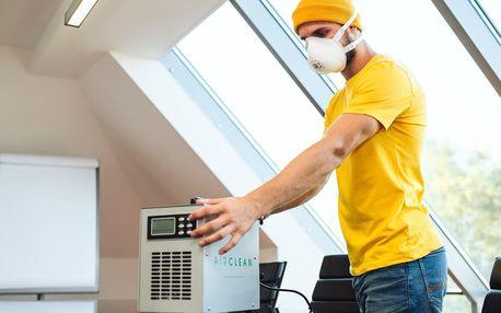 Dezinfikace bytových prostor za pomocí ozónu