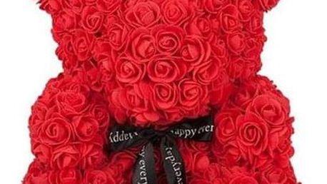 Medvídek z umělých růží Michal