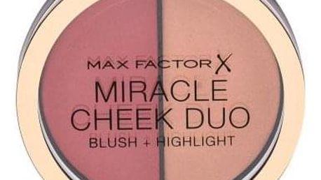 Max Factor Miracle Cheek Duo 11 g krémová tvářenka a rozjasňovač pro ženy 30 Dusky Pink & Copper
