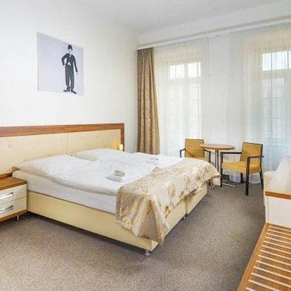 Karlovy Vary: 8 dní v Hotelu Malta **** se vstupem do Alžbětiných lázní + 15 léčebných procedur a plná penze