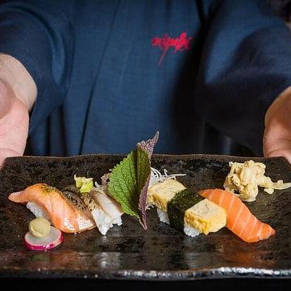 Profesionální příprava sushi pro dva