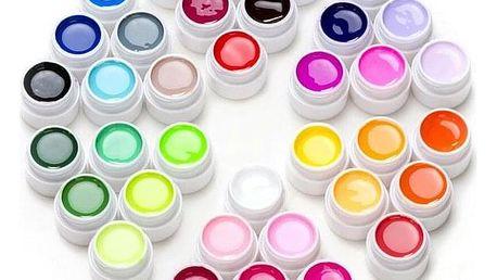 Sada LED/UV gelů na nehty Bianna