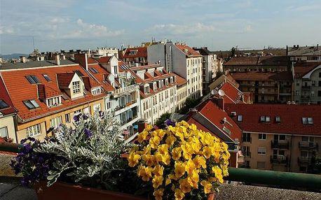 Maďarsko - Budapešť na 3-4 dny, snídaně v ceně