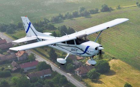 Pilotem sportovního letounu CESSNA pro 1-3 osoby pod dohledem instruktora