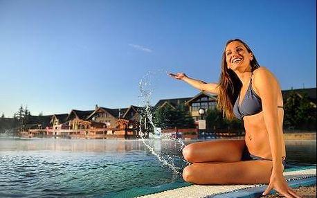 4 noci za cenu tří v hotelu Bešeňová s neomezeným vstupem do vodního parku