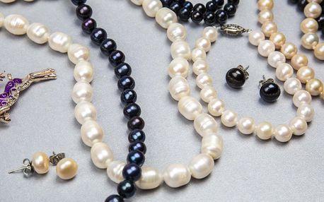 Šperky z pravých sladkovodních perel s certifikátem