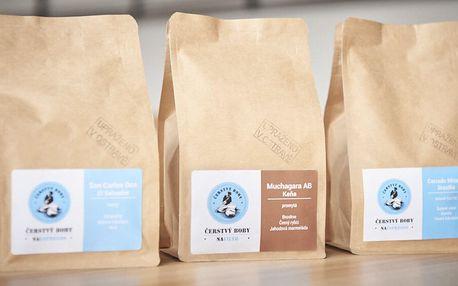 Výběrová káva z české pražírny: espresso i filtr