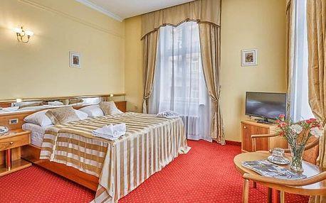 Karlovy Vary: FIT pobyt v Park Spa Hotelu Sirius **** s 6 procedurami, odpoledními koktejly a plnou penzí