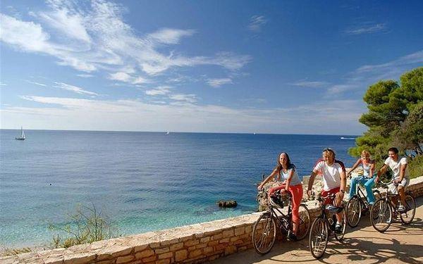 Hotel Miramar, Istrie, vlastní doprava, snídaně v ceně2