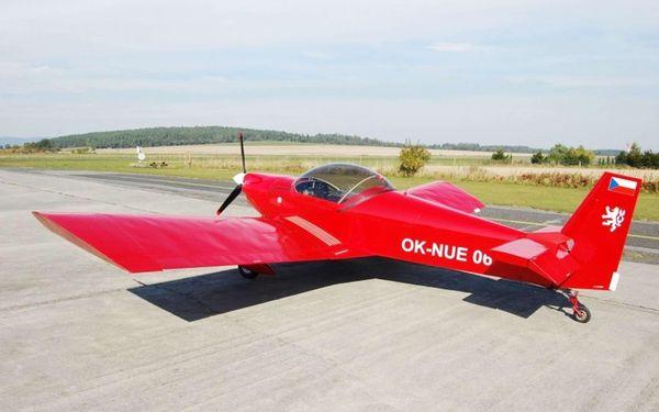 Zážitkový let - pilotem sportovního letounu Zenair v Hradci Králové