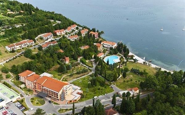 Hotel Salinera Resort 4*, Slovinsko, vlastní doprava, snídaně v ceně2