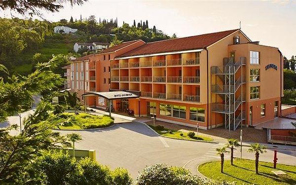 Hotel Salinera Resort 4*, Slovinsko, vlastní doprava, snídaně v ceně3