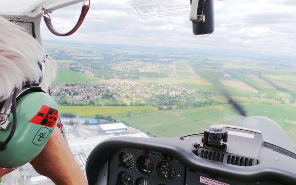 Pilotem sportovního letounu Zenair pro 1 osobu na 20 minut2