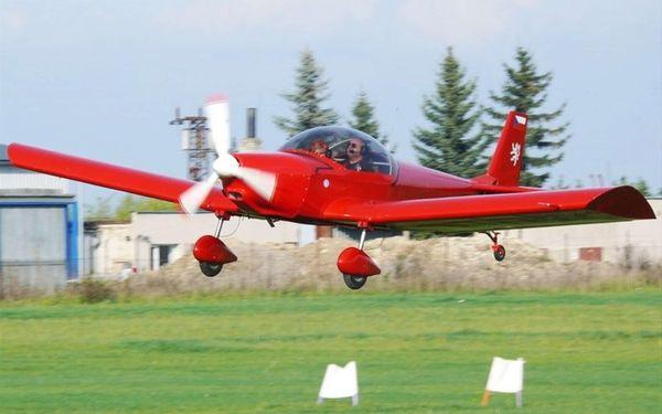 Pilotem sportovního letounu Zenair pro 1 osobu na 20 minut5