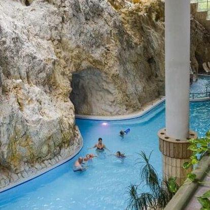Maďarsko: Miskolc jen 2 minuty od jeskynních lázní v Hotelu Ambrózia *** s polopenzí a vínem