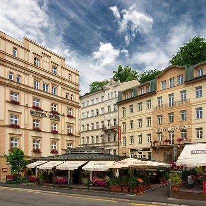 Wellness pobyt s polopenzí v hotelu Růže v Karlových Varech