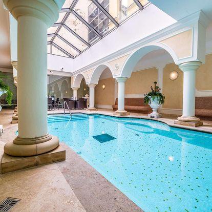 Exkluzivní wellness pobyt v hotelu Elizabeth ****