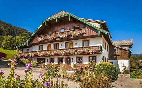 Rakousko - Salcbursko na 3-8 dnů, snídaně v ceně