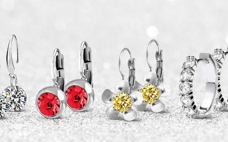 Náušnice s krystalky Swarovski Elements i set