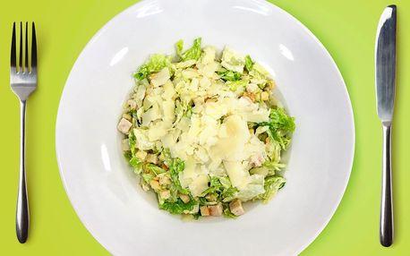 Rýže s kuřetem i vege nebo salát, k obojímu fresh