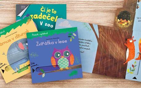 Dětské posunovací a odklápěcí knížky