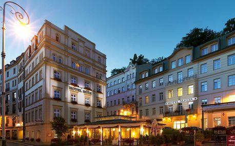Wellness pobyt s polopenzí v hotelu Malta v Karlových Varech
