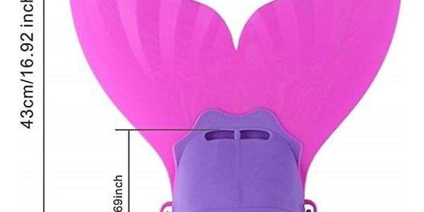 Monoploutev MASTER Mermaid růžová2