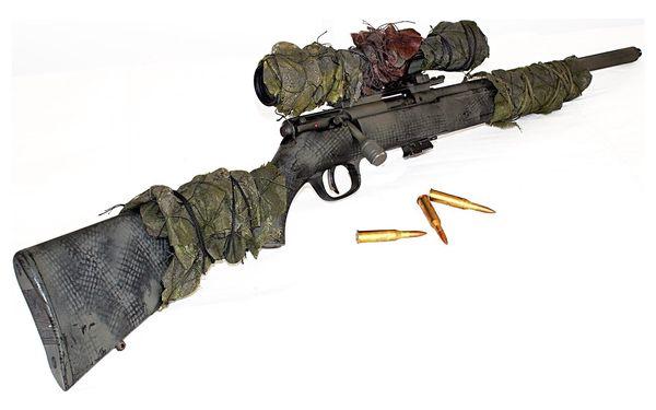 Střelecký balíček Sniper – neviditelný střelec (8 zbraní, 44 nábojů)2