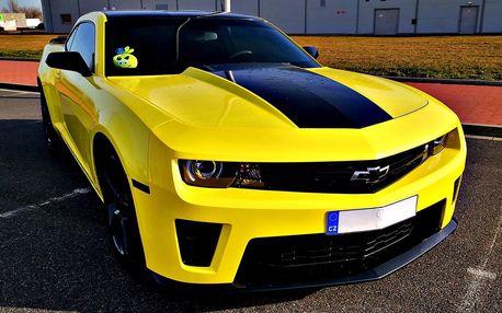 Pronájem Chevroletu Camaro na 12 nebo 24 hodin