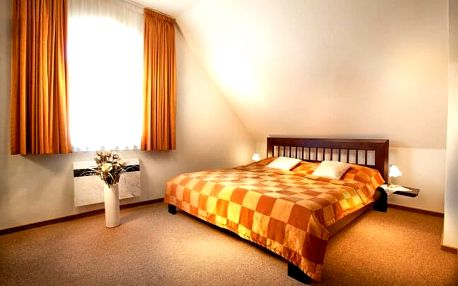 Hrubá Voda u Olomouce v Hotelu Akademie ***+ s polopenzí a zapůjčením koloběžek + 2 děti do 15 let zdarma