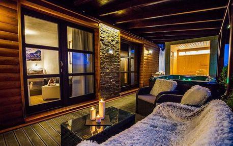 Zahradní Wellness apartmá s vířivkou a finskou saunou v Blansku