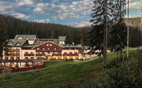 Pobyt se vstupem do wellness v oblíbeném hotelu s jedinečnou atmosférou a dobrou polohou, Nízke Tatry - Jasná