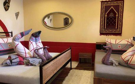 Rodinný pobyt v apartmánu Maroko pro 4 osoby v Úžicích