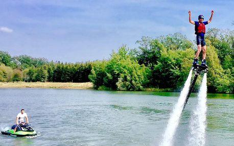 Let na flyboardu: vznášejte se nad vodou
