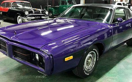 Jízda v unikátním bouráku: Dodge Charger z roku 1973
