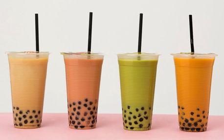 Mléčný čaj i varianty s perlami a želé