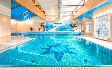 Karlovy Vary v srdci lázeňské zóny: Interhotel Central **** s polopenzí, wellness, procedurami a výhodami