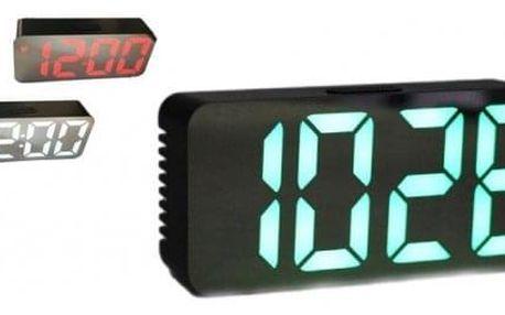 LED digitální hodiny - budík