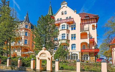 Karlovy Vary: Hotel Smetana – Vyšehrad **** s neomezeným wellness, slevou na procedury a polopenzí