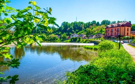 Jižní Čechy: Tábor v Hotelu Romantik Eleonora *** s konopnou koupelí Carun, welcome drinkem a polopenzí