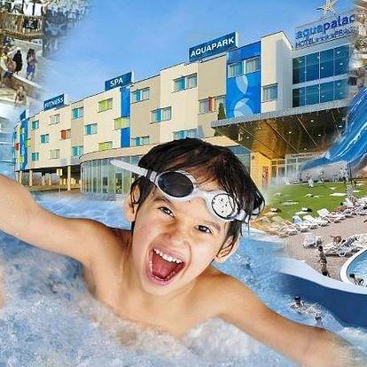 Ubytujte se přímo v Aquapalace Praha
