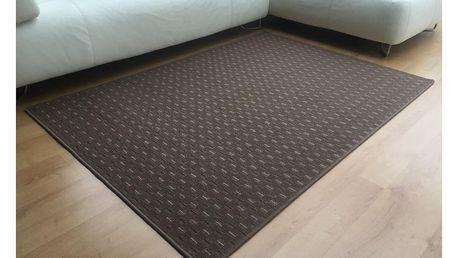 Vopi Kusový koberec Valencia hnědá, 120 x 170 cm