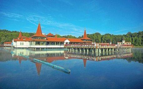 Maďarsko jen 100 m od jezera Hévíz v Bonvital Wellness & Gastro Hotelu **** s neomezeným wellness a polopenzí