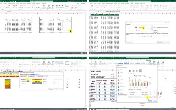 Měsíční video kurz Excelu pro pokročilé3