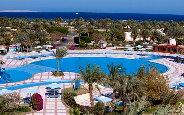 PHARAOH AZUR, Hurghada, letecky, all inclusive5