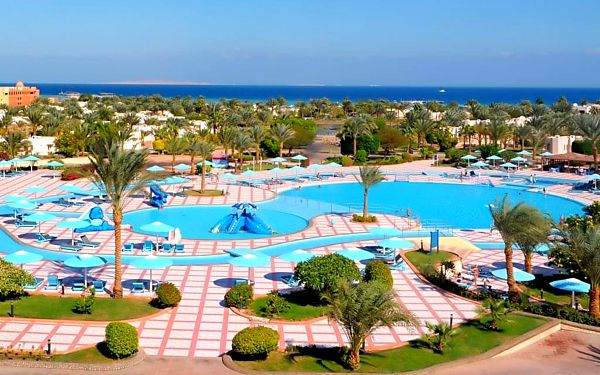 PHARAOH AZUR, Hurghada, letecky, all inclusive