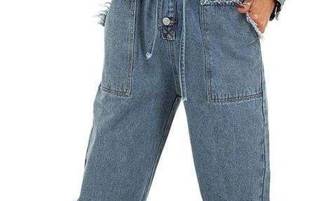 Dámský jeansový overal