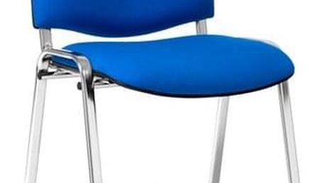 Konferenční židle ISO CHROM C73 - světle šedá