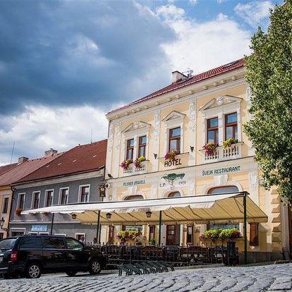 Česká republika, Západní Čechy, vlastní dopravou na 8 dní polopenze