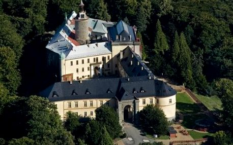 Prohlídka zámku Zbiroh s gastronomickým zážitkem